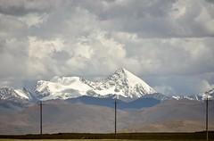 Landscape near Lake Namtso, Tibet (2) (Prof. Mortel) Tags: tibet lake namtso