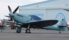 Spitfire: PL983 Spitfire PR.XI Newcastle Airport (emdjt42) Tags: pl983 gprxi spitfire newcastleairport