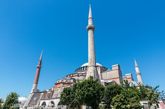 Istanbul - Basilique Sainte-Sophie (Darth Jipsu) Tags: constantinople hagiasophia church landmark ayasofya istanbul turkey ottoman mosque byzantine minaret architecture unesco dome europe basilica museum turquie tr