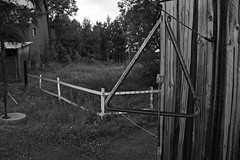 Dinner (Cindy's Here) Tags: dinner triangle rustic rural geometricshapes bw foundersmuseum pioneervillage thunderbay ontario canada canon 118 113 100xthe2018edition 100x2018 image45100