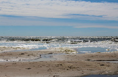 Never surf on the waves, but make your own (biancaaalberts) Tags: beach netherlands sand blue water sea ocean waves summer castricum strand nederland blauw zee zand