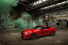 Red monster 2 ! (mateusz.jedrak1) Tags: ford mustang smoke gt 50 tuning
