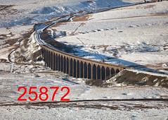 robfrance5d2_25872_280218_ribblehead_viaduct_inf_edr16lr6cefx2pse15weblowres (RF_1) Tags: 2018 bad badweather battymoss britain british cold coldweather covered dales england europe european rail railroad rails railway railways ribblehead ribbleheadviaduct rural sc settlecarlisle snow snowing transport uk unitedkingdom viaduct weather white winter yorkshire