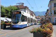 2018-07-27, TPG, Carouge Marché (Fototak) Tags: tram strassenbahn genève tpg switzerland stadler tango geneva ligne12 1806