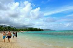Mystery Island (missgeok) Tags: turquoisewaters outdoor whiteclouds bluesky beautiful mysteryisland vanuatu southpacificisland tropical unspoilt paradise islandhopping travelphotography vacation holidays nature