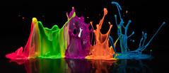 Paint dance (jeff's pixels) Tags: paint drop audio highspeed macro nikon d850 color art abstract
