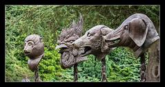 Ai Weiwei - Four Zodiacal animals 2 (MikeJDavis) Tags: aiweiwei ysp yorkshiresculpturepark