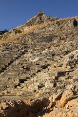 Lindos Theatre & Acropolis (ir0ny) Tags: rhodes greece lindos acropolis akropolis lindosacropolis lindosakropolis theatre ruins ancientruins lindian