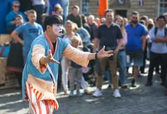 Chinese performer Edinburgh Fringe 2018_2653 (David in Lisburn) Tags: edinburghfringe2018 fringe scotland royalmile dancers actors strangepeople colours chinesedancers tricks cobblestonesguitarists streetperformers laughs crowds performance party colour urban candidstreetphotography festival makeup clown funny comedy nikond700