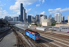 06-30-2018 Roosevelt Evening (Missabefan) Tags: cta chicago amtrak idtx metra amtk chicagounionstation rooseveltroad