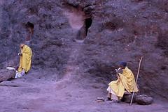 ETHIOPIA - Early morning in Lalibela (BoazImages) Tags: africa morning church yellow stone christ religion holy bible cave christianity orthodox lalibela ehtiopia abigfave lpmorning top20travelpix stunningphotogpin