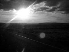 Flare (TheSki) Tags: blackandwhite sun art beautiful america austin photography highway texas divine photograph stunning americana plains popular technique artisitic bestshot flickrhits theski davidgaiewski