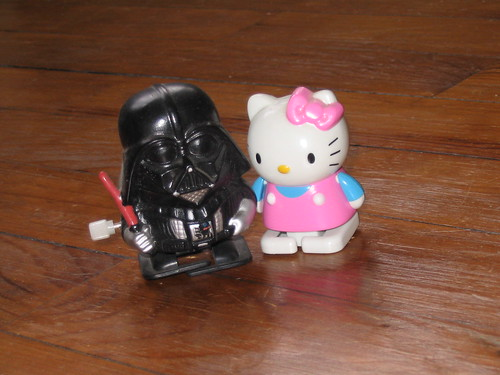 Darth Vader loves hello kitty