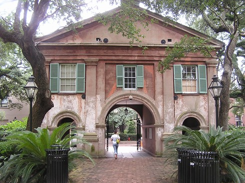 college of charleston cistern. the College of Charleston
