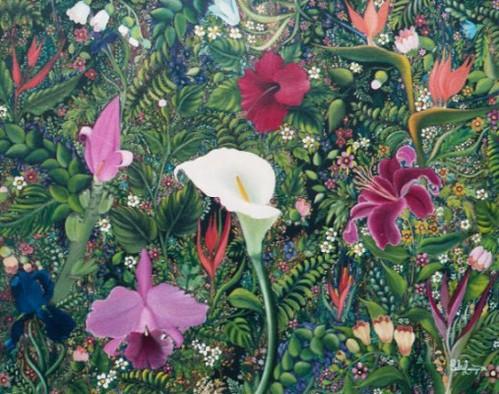 flores del exilio