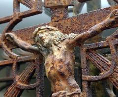 Cast Iron Crucifix - by jwinfred