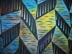 blues 2 (zoe**) Tags: blue multicoloured quilts festivalofquilts inspirationnotmadebyme