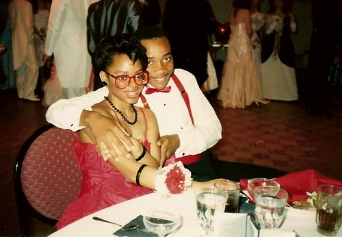 roshanda and keith, prom 1989