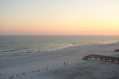 Sunset over  Orange Beach