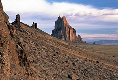 Shiprock: New Mexico (NM) (Floyd Muad'Dib) Tags: new usa newmexico southwest america geotagged mexico us unitedstates united north northamerica states nm northern americanwest shiprock volcanicplug hogback westernusa northernnewmexico shiprocknewmexico shiprocknm