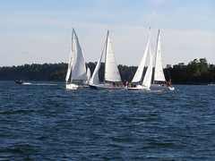 P1010079 (Papa Razzi1) Tags: sea water sailboat boats sailing sweden stockholm sail waters matchrace saltsjbaden