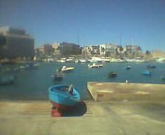 Bari dal Chiringuito (Andrea Giudiceandrea) Tags: cameraphone sea italy port geotagged boat nokia fishing barca mare porto puglia bari nokia3200 polpi polpo apulia geo:lat=41126564 geo:lon=16874828