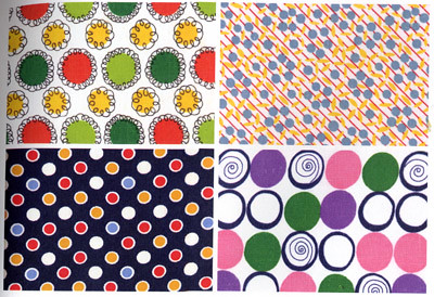 Vintage Fabric From the States - Dots Page
