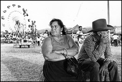 (shadowplay) Tags: leica cowboy couple fat ferriswheel cocacola superfantastique countyfair haybale printscan saugus