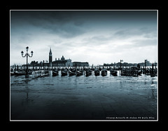 Shiver (Olivier Jules) Tags: venice wallpaper italy cloud topf25 animal dark landscape blog europa europe italia mare blu awesome myspace ring 101 splendida winner favourites laguna deviantart venezia lampioni asd abruzzo facebook sangiorgiomaggiore gondole veneto nubi favoriti altamarea 25faves anxanum olivierjules somethingblueinmylife giulioolivahotmailit