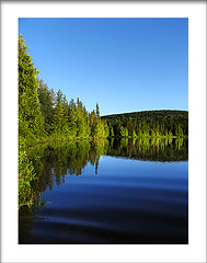 Mirroir* (Imapix) Tags: voyage travel lake canada reflection forest mirror photo bravo photographie quebec quality qubec mirroir imapix mastigouche imapixphotography gatanbourquephotography