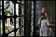 the phantom of the photographer (Asli Kodan) Tags: grave graveyard ghost tomb tombstone gravestone phantom tombs babel hayalet hayal 1on1peoplephotooftheday