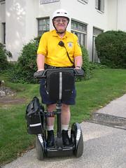 segway (Jacob Marcinek) Tags: philadelphia yellow university technology helmet guard security segway philadelphiauniversity philau