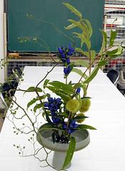 Harvest season (monchi6688) Tags: flowers flower ikebana flowerarrangement  sogetsu japaneseflowerarrangement