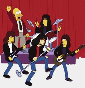 Simpsons and Ramones