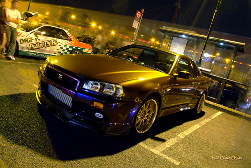 Midnight Purple Nissan Skyline | Flickr - Photo Sharing!