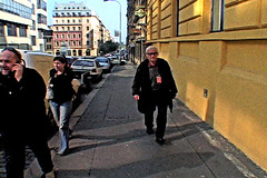 Albert Maysles in Prague (Chris Seufert) Tags: chris film photo video republic czech prague photos films albert documentary maysles mooncusser seufert
