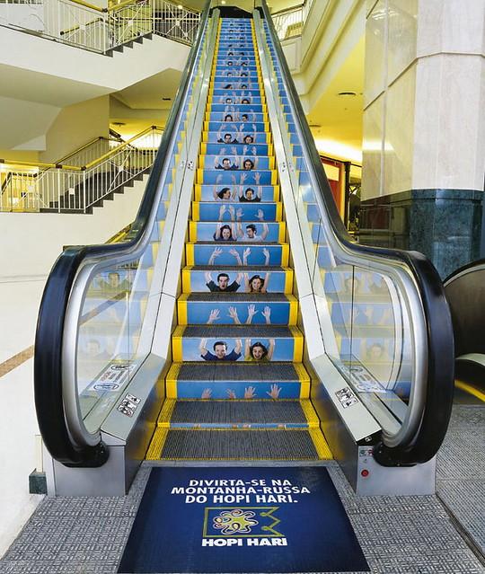 広告媒体として認識されていない物をメディアとして活用している広告