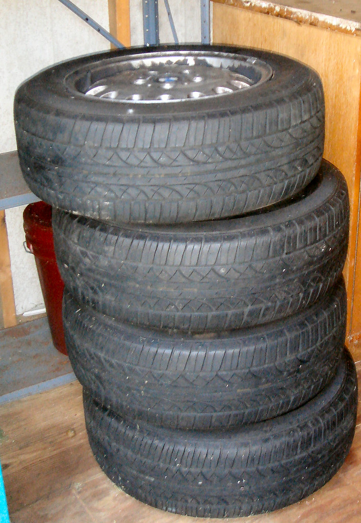 BMW Rims & New Tires - $400