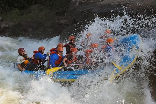 Rafting galicia
