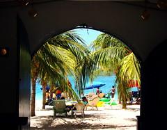 playa: arena y  mar (ruurmo) Tags: sea beach palms mar venezuela playa palmeras ruurmo arena frame caribbean babel caribe manglar cayosal eresagua