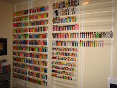 PEZ wall (WEBmikey) Tags: pez toys