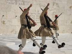Evzones / Syntagma / Athens / Tsolias / T () Tags: vacation holiday 3 man monument soldier three memorial uniform kilt monumento military guard athens greece grecia soldiers guards griechenland rtw grce unknownsoldier vacanze soldaten roundtheworld tomboftheunknownsoldier sentry globetrotter syntagma tsolias syntagmasquare militaryuniform  atene constitutionsquare   evzone evzones worldtraveler presidentialguard memoriale  evzon evzoni tsoliades evzons  fustanella       greekroyalguard helleniccivilization