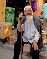 Elderly Hui man (Frogdeck) Tags: china man muslim elderly chinadigitaltimes hui gansu linxia      colorphotoaward    chinadigitaltimes