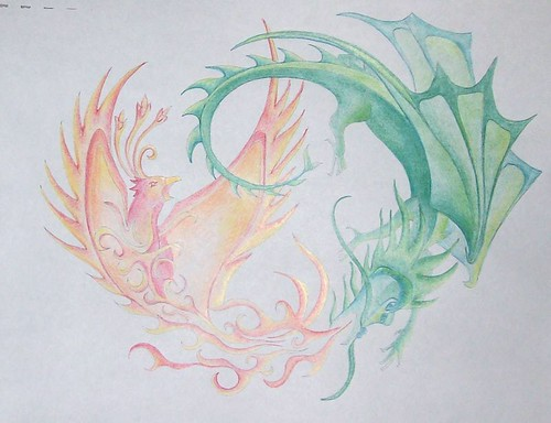 Dragon Phoenix Tattoos