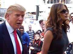Donald Trump and Melania by Boss Tweed