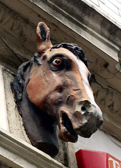 enough to scare the horses (Yersinia) Tags: uk greatbritain england horse london public geotagged se europe unitedkingdom britain eu gb yuck bermondsey safe guessed guesswherelondon londonguessed southlondon southwark se1 travelcard smithy horseshead londonset bestiaireurbain ccnc southoftheriver zone1 photographical leathermarketstreet yersinia postcoded londonpool urbanbestiary guessedbybravo99 urbanfragmentspool gwl2006 casioexz110 geo:lat=51500472 geo:lon=0082156 morroccostreet rwautos postedbyyersinia alondonbestiary inygm se1set anurbanbestiary southlondonset southwarkpool gwlg londonboroughcollection
