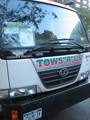 "Tows ""R"" us (dM.nyc) Tags: nyc newyorkcity sign truck topv1111 quotation 1000views roseannetookthis img2431jpg"