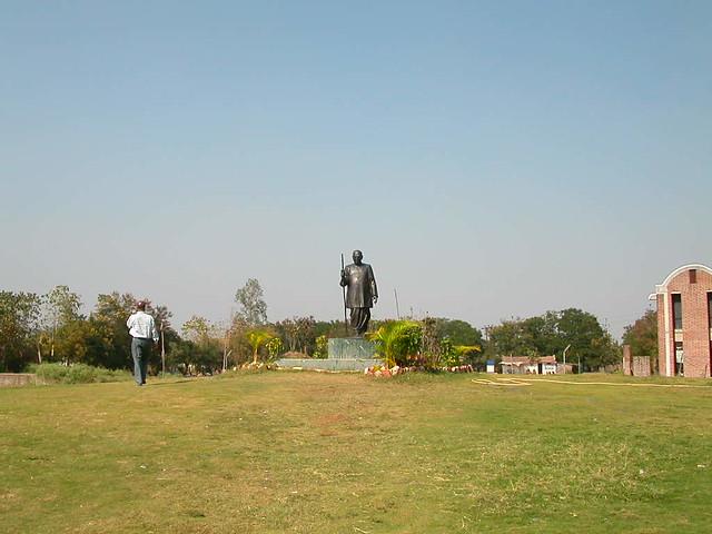 Nagaloka    Ambedkar statue 3