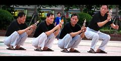 action-man (lifemage) Tags: china man photoshop gun shanghai action clone lazer enoch multiply lifemage