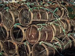 2016-12-09_CrabbingDaily343-366 (vickievilla) Tags: fisterra galicia roadscholar spain fishing fishingequipment crabtraps crabbaskets